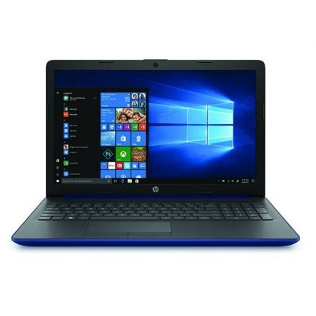 PORTÁTIL HP 15-DA0187NS - I3-7020U 2.3GHZ - 4GB - 500GB - 15.6'/39.6CM HD - HDMI - BT - NO ODD - W10 - AZUL LUMIERE