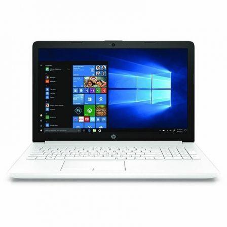 PORTÁTIL HP 15-DA0747NS - I5-7200U 2.5GHZ - 8GB - 256SSD - 15.6'/39.6CM HD - HDMI - BT - W10 HOME - BLANCO NIEVE