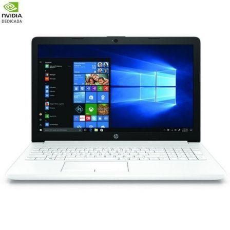 PORTÁTIL HP 15-DA0752NS - I5-7200U 2.5GHZ - 8GB - 256GB SSD - GEFORCE MX110 2GB - 15.6'/39.6CM HD - HDMI - BT - W10 HOME - BLANCO NIEVE
