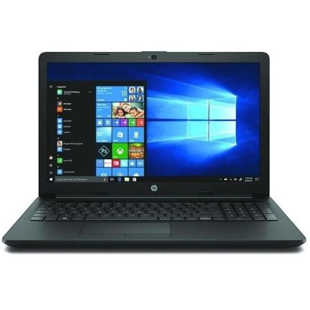 PORTÁTIL HP 15-DA1032NS - I5-8265U 1.6GHZ - 8GB - 256GB SSD - 15.6'/39.6CM HD - HDMI - BT - NO ODD - W10 HOME - NEGRO AZABACHE