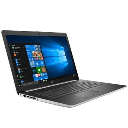 PORTÁTIL HP NOTEBOOK 17-BY0001NS - I3-7020U 2.3 GHZ - 4GB - 1TB - 17.3'/43.9CM HD+ - DVD+-RW - HDMI - WIFI - BT - W10 - PLATA