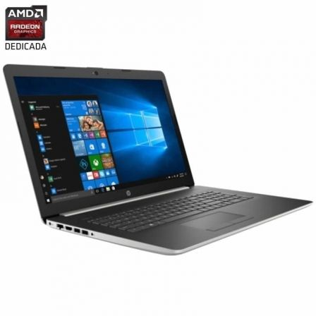 PORTÁTIL HP NOTEBOOK 17-BY0004NS - I3-7020U 2.3 GHZ - 8GB - 512GB SSD PCIE NVME  - AMD RADEON 520 2GB - 17.3'/43.9CM HD+ - DVD+-RW - HDMI - W10 -PLATA