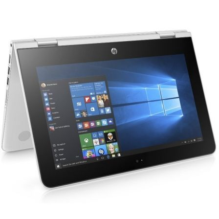 PORTÁTIL HP X360 11-AB102NS - INTEL N4000 1.1GHZ - 4GB - 500GB - 11.6'/29.5CM HD TÁCTIL - BISAGRA 360º - HDMI - BT - W10 - BLANCO NIEVE
