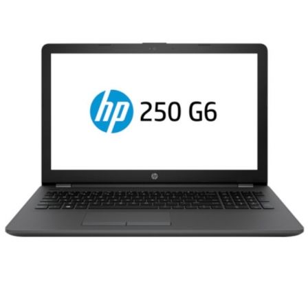 PORTÁTIL HP 250 G6 4WV09EA - INTEL N4000 1.1GHZ - 4GB - 128GB SSD - 15.6'/39.6CM HD - WIFI - BT - HDMI - VGA - FREEDOS 2.0 - NEGRO