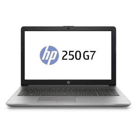 PORTÁTIL HP 250 G7 6BP04EA - I5-8265U 1.6GHZ - 8GB - 256GB SSD PCIe NVMe - 15.6'/39.6CM FHD - DVD RW - BT- FREEDOS - PLATA CENIZA