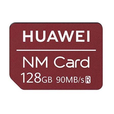 TARJETA MEMORIA NM CARD HUAWEI 06010396 - 128GB - 90MB/S - COMPATIBLE CON HUAWEI MATE 20 / MATE 20 PRO
