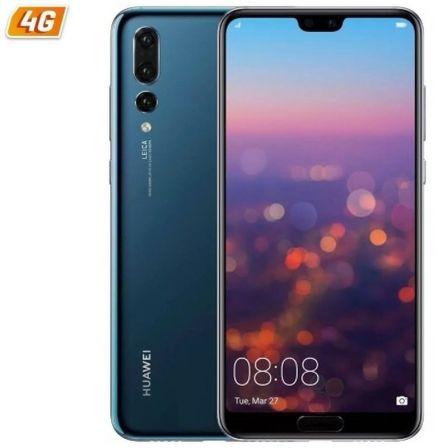 SMARTPHONE MÓVIL HUAWEI P20 PRO BLUE - 6.1'/15.4CM - CÁM (40+20+8)MP/24MP - OC KIRIN 970 - 128GB - 6GB - DUAL SIM - ANDROID 8.1 - 4G - 4000MAH