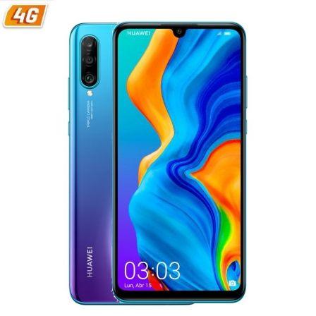 SMARTPHONE MÓVIL HUAWEI P30 LITE PEACOCK BLUE - 6.15'/15.6CM - CAM (48+8+2MP)/24MP - KIRIN 710 - 128GB - 4GB RAM - DUAL SIM - ANDROID 9 - 4G -BAT3340M