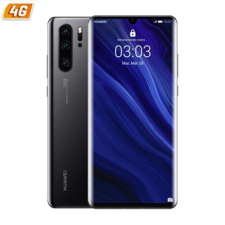 SMARTPHONE MÓVIL HUAWEI P30 PRO BLACK - 6.47'/16.43CM - CAM (40+20+8MP)/32MP - KIRIN 980 - 128GB - 6GB RAM - DUAL SIM - ANDROID 9 - 4G - BAT4200MAH