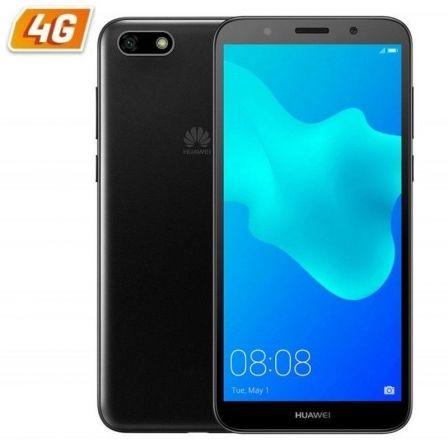 SMARTPHONE MÓVIL HUAWEI Y5 DS BLACK - 5.45'/13.8CM - CÁMARA 8MP/5MP - QC MT6739 1.5GHZ - 16GB - 2GB RAM - DUAL SIM - ANDROID 8.1 - 4G - BAT3020MAH