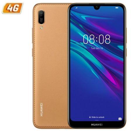 SMARTPHONE MÓVIL HUAWEI Y6 2019 BROWN- 6.09'/15.46CM - CÁMARA 13/8MP - QC 2.0GHZ - 32GB - 2GB RAM - ANDROID 9 - 4G - DUAL SIM - BAT 3020MAH