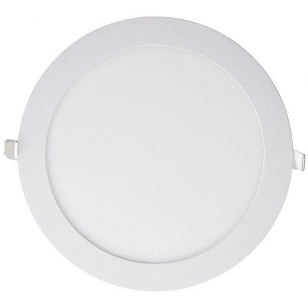 Downlight Iglux LS-102104-CB/ Circular/ Ø92 x 19mm/ Potencia 4W/ 250 Lúmenes/ 3000ºK/ Blanco
