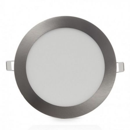 Downlight Iglux 102113-FS/ Circular/ Ø170 x 19mm/ Potencia 13W/ 1130 Lúmenes/ 6000ºK/ Níquel