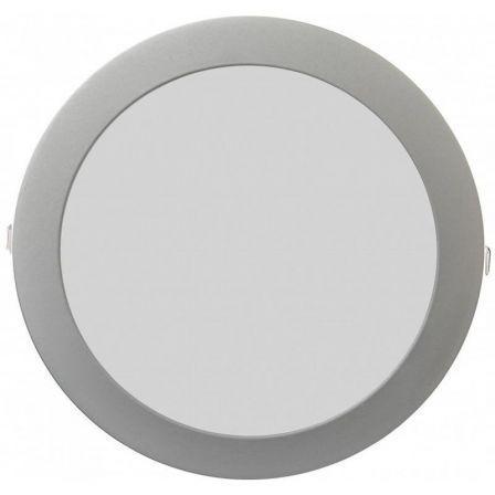 Downlight Iglux LS-102118-CP/ Circular/ Ø220 x 19mm/ Potencia 18W/ 1540 Lúmenes/ 3000ºK/ Plata