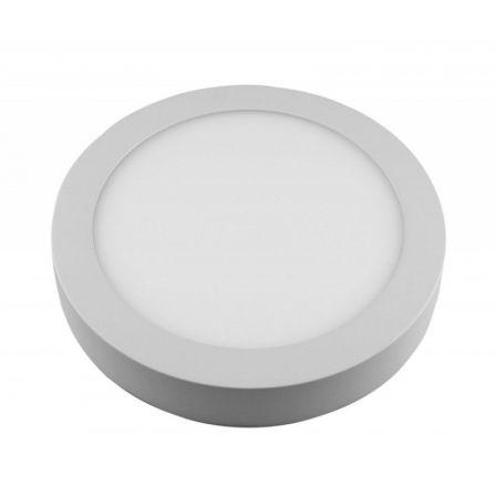 Downlight Iglux SUP-102307-NB/ Circular/ Ø120 x 35mm/ Potencia 7W/ 540 Lúmenes/ 4000ºK/ Blanco