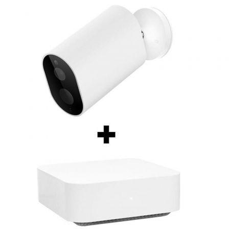 Kit Videovigilancia Imilab CMSXJ11AG/ Cámara WiFi Imilab EC2 + Gateway Imilab/ 120º/ Visión Nocturna/ Control desde APP