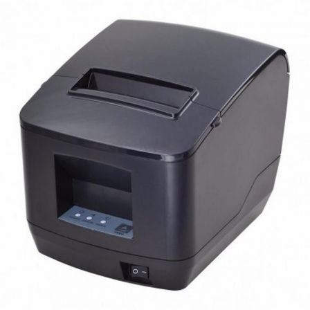 Impresora de Tickets Premier ITP-83 B/ Térmica/ Ancho papel 80mm/ USB-RS232-Ethernet/ Negra