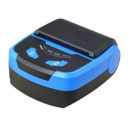 Impresora de Tickets Premier ITP-Portable WF/ Térmica/ Ancho papel 80mm/ USB-WiFi/ Azul y Negra