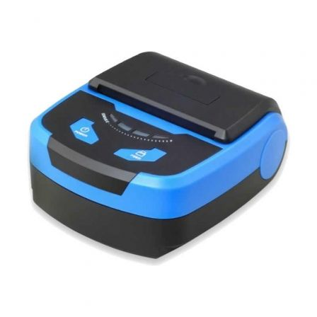 Impresora de Tickets Premier ITP-Portable BT/ Térmica/ Ancho papel 80mm/ USB-Bluetooth/ Azul y Negra