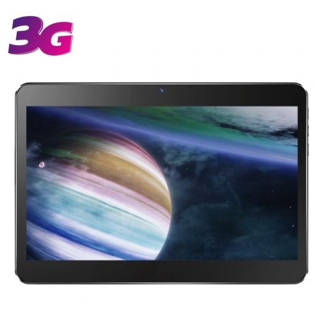 """TABLET CON 3G INNJOO F104 BLACK - QC MEDIATEK 6582 - 1GB RAM - 16GB - 10.1""""/25.65CM - ANDROID 8 - CÁMARA 0.3/2MPX - MICRO SD - BAT 4000 MAH"""