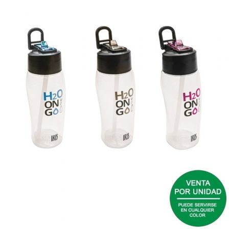 Botella Iris Eco Free BPA 8204-P/ Capacidad 650ml