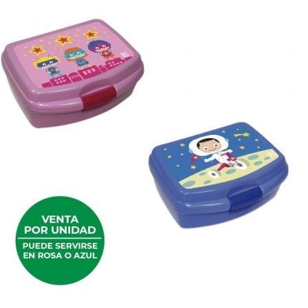 Lunchbox Iris SnackRico Heroínas/ Capacidad 550ml