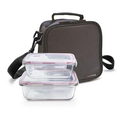 Bolsa Porta Alimentos Iris Basic Lunchbag Cont. Vidrio/ Capacidad 3.8L