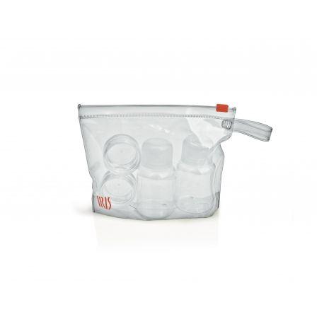 Set de Condimentos Iris 2985-P/ 2 Botellas para Líquidos/ 2 Recipientes a Rosca