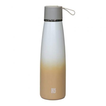 Termo Iris Botella Natural Arena 8357-IA/ Capacidad 500ml/ para líquidos