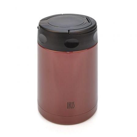 Termo Iris Lunchbox Colored Burdeos 8359-IB/ Capacidad 500ml/ para sólidos