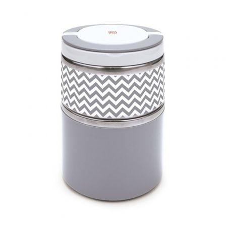 Termo Iris Lunchbox coloured Gris 8343-I/ Capacidad 900ml/ para sólidos