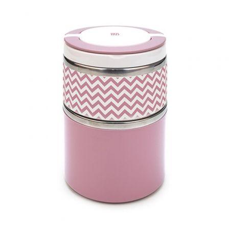 Termo Iris Lunchbox coloured Rosa 8340-I/ Capacidad 900ml/ para sólidos