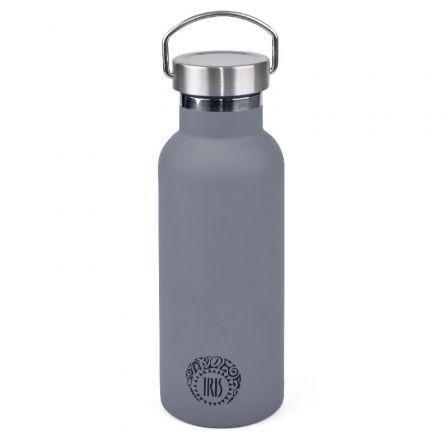 Termo Iris Botella Tierra Gris/ Capacidad 500ml/ para líquidos
