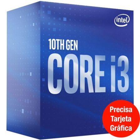 Procesador Intel Core i3-10100F 3.60GHz