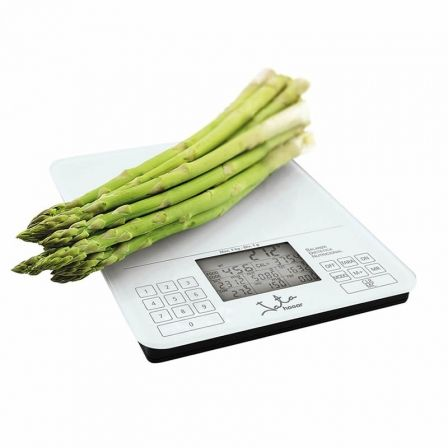 Báscula de Cocina Electrónica Jata Hogar 790/ hasta 5kg/ Blanca