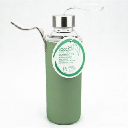Botella de Cristal Jocca 1515/ Verde