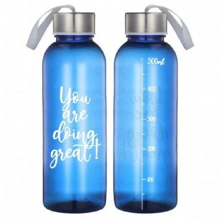 Botella Jocca 1516/ Capacidad 500ml/ Azul