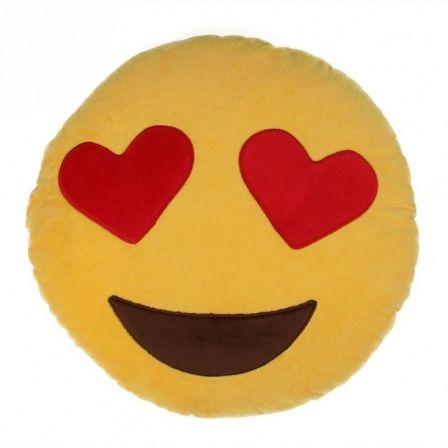 Cojín Jocca Emoji Corazones