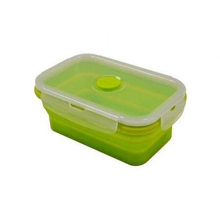 Recipiente de Silicona Plegable Jocca 4499/ Verde