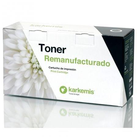 Tóner Reciclado Karkemis HP Q2612A XL Alta Capacidad/ Negro