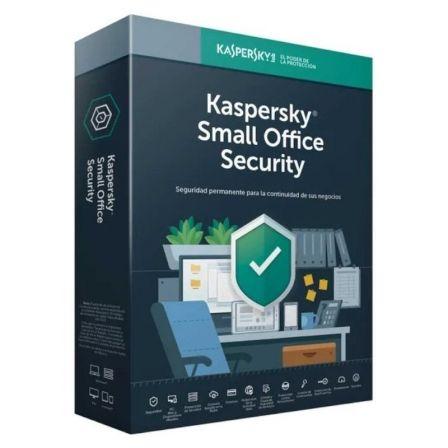 Antivirus kaspersky small office servidor + 10 usuarios 1 año v7