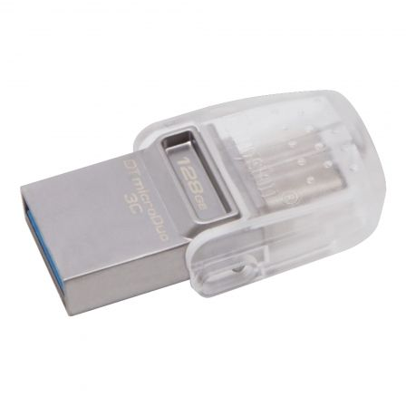 Pendrive 128GB Kingston DataTraveler MicroDuo 3C USB 3.0/ USB Tipo-C