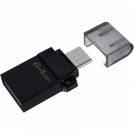 Pendrive 64GB Kingston DataTraveler MicroDuo 3.0 G2 USB 3.0/ MicroUSB