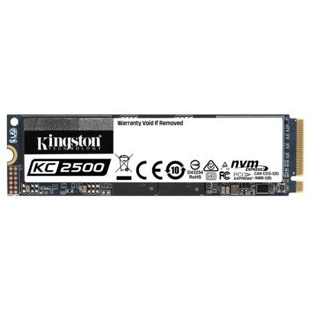 Disco SSD Kingston KC2500 2TB/ M.2 2280 PCIe