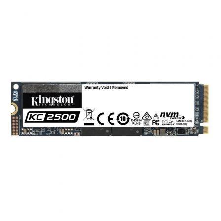 Disco SSD Kingston KC2500 500GB/ M.2 2280 PCIe