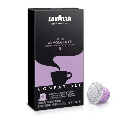 Cápsula Lavazza Avvolgente para cafeteras Nespresso/ Caja de 10