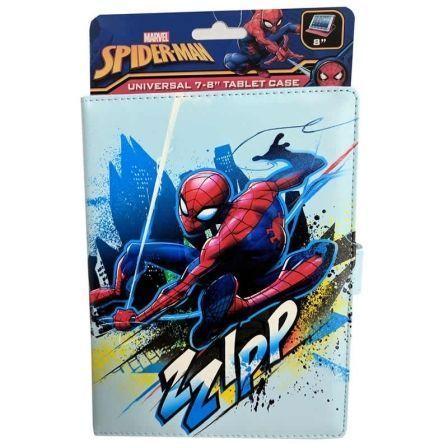 Funda Lazerbuilt Marvel SPIDER-MAN para Tablets de 8\