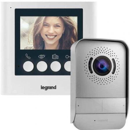 Videoportero Automático Legrand Easy Kit 2 LG-369110/ Gris