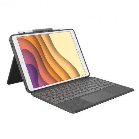 Funda con Teclado Logitech Combo Touch para Tablets Apple Ipad Air 3 Gen 2020 y Ipad Pro 10.5\