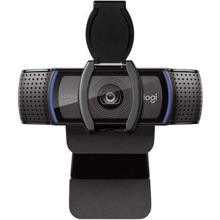 Webcam Logitech C920e/ Enfoque Automático/ 1920 x 1080 Full HD